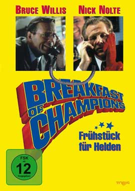 Breakfast of Champions - 11 x 17 Movie Poster - German Style A