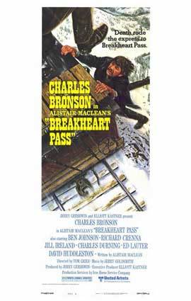 Breakheart Pass - 11 x 17 Movie Poster - Style B