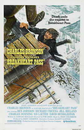 Breakheart Pass - 27 x 40 Movie Poster - Style B
