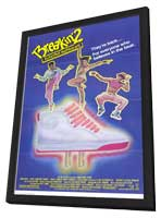 Breakin' 2: Electric Boogaloo - 11 x 17 Movie Poster - Style A - in Deluxe Wood Frame