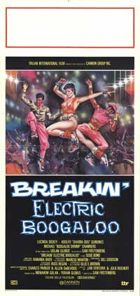 Breakin' 2: Electric Boogaloo - 13 x 28 Movie Poster - Italian Style A