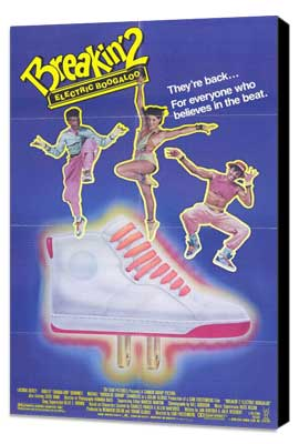 Breakin' 2: Electric Boogaloo - 27 x 40 Movie Poster - Style A - Museum Wrapped Canvas
