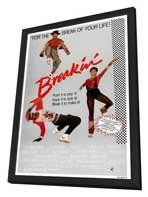 Breakin' - 11 x 17 Movie Poster - Style A - in Deluxe Wood Frame
