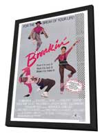 Breakin' - 27 x 40 Movie Poster - Style A - in Deluxe Wood Frame