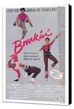 Breakin' - 27 x 40 Movie Poster - Style A - Museum Wrapped Canvas