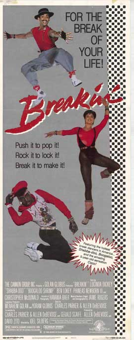 Breakin' - 14 x 36 Movie Poster - Insert Style A