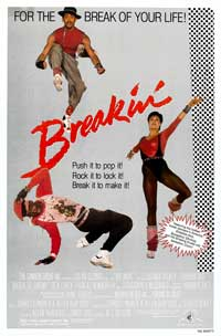 Breakin' - 11 x 17 Movie Poster - Style A - Museum Wrapped Canvas