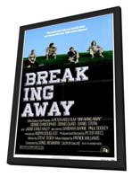 Breaking Away - 27 x 40 Movie Poster - Style A - in Deluxe Wood Frame