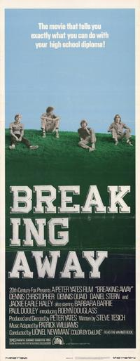 Breaking Away - 14 x 36 Movie Poster - Insert Style A