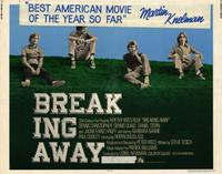 Breaking Away - 22 x 28 Movie Poster - Half Sheet Style A