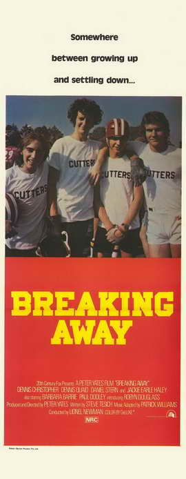 Breaking Away - 14 x 36 Movie Poster - Insert Style B