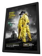Breaking Bad - 11 x 17 TV Poster - Style C - in Deluxe Wood Frame