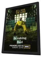 Breaking Bad - 11 x 17 TV Poster - Style H - in Deluxe Wood Frame