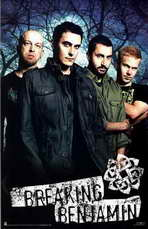 Breaking Benjamin - Music Poster - 22 x 34 - Style A