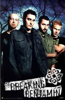 Breaking Benjamin - 27 x 40 Movie Poster
