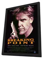 Breaking Point - 11 x 17 Movie Poster - Style A - in Deluxe Wood Frame