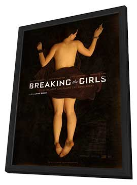 Breaking the Girls - 11 x 17 Movie Poster - Style B - in Deluxe Wood Frame