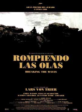 Breaking the Waves - 11 x 17 Movie Poster - Spanish Style A