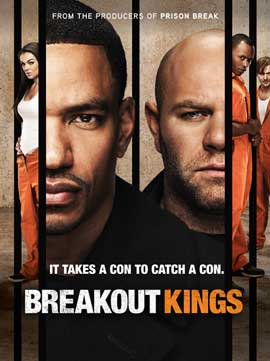 Breakout Kings (TV) - 27 x 40 TV Poster - Style A
