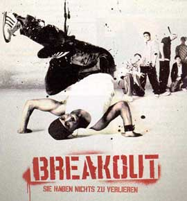 Breakout - 11 x 14 Poster German Style A