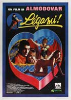 BreathlessTie Me Up! Tie Me Down! - 27 x 40 Movie Poster - Italian Style A