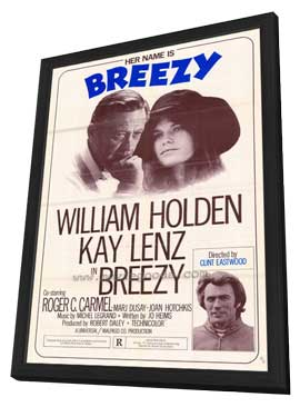 Breezy - 11 x 17 Movie Poster - Style B - in Deluxe Wood Frame