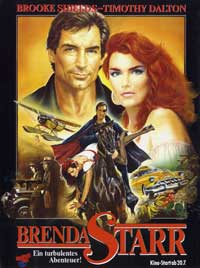 Brenda Starr - 27 x 40 Movie Poster - German Style A