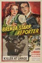 Brenda Starr, Reporter - 11 x 17 Movie Poster - Style B