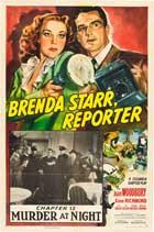 Brenda Starr, Reporter - 27 x 40 Movie Poster - Style C