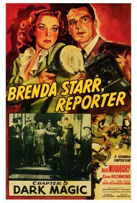 Brenda Starr, Reporter - 27 x 40 Movie Poster - Style A