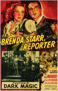 Brenda Starr, Reporter - 43 x 62 Movie Poster - Bus Shelter Style B