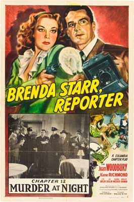 Brenda Starr, Reporter - 11 x 17 Movie Poster - Style C