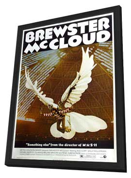 Brewster McCloud - 27 x 40 Movie Poster - Style A - in Deluxe Wood Frame