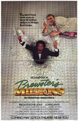 Brewster's Millions - 11 x 17 Movie Poster - Style A