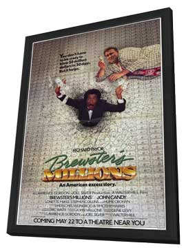 Brewster's Millions - 11 x 17 Movie Poster - Style A - in Deluxe Wood Frame