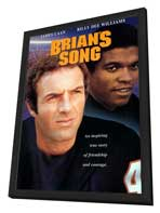 Brian's Song - 11 x 17 Movie Poster - Style A - in Deluxe Wood Frame