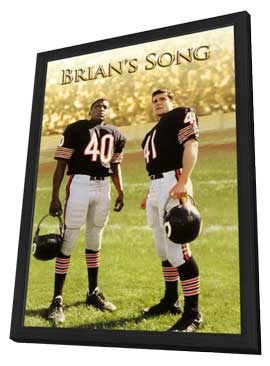 Brian's Song - 11 x 17 Movie Poster - Style B - in Deluxe Wood Frame