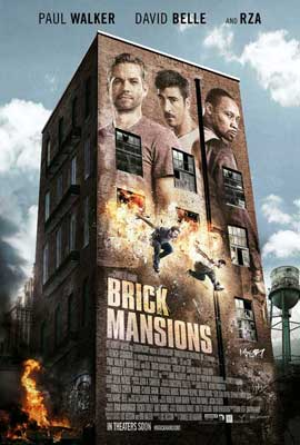 Brick Mansions - 27 x 40 Movie Poster - Style A
