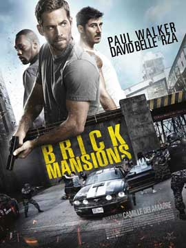 Brick Mansions - 27 x 40 Movie Poster - French Style A