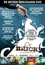 Brick - 27 x 40 Movie Poster - Swiss Style A