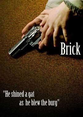 Brick - 27 x 40 Movie Poster - Style F