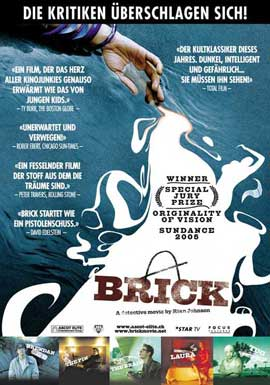 Brick - 11 x 17 Movie Poster - Swiss Style A