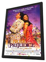 Bride and Prejudice - 11 x 17 Movie Poster - Style A - in Deluxe Wood Frame