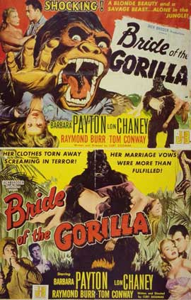 Bride of the Gorilla - 11 x 17 Movie Poster - Style A