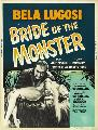 Bride of the Monster - 43 x 62 Movie Poster - Bus Shelter Style B