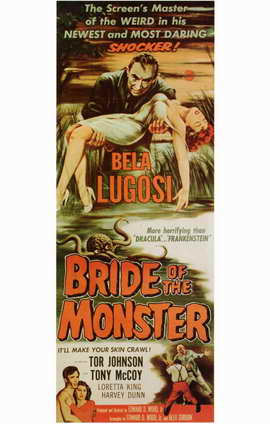 Bride of the Monster - 11 x 17 Movie Poster - Style A