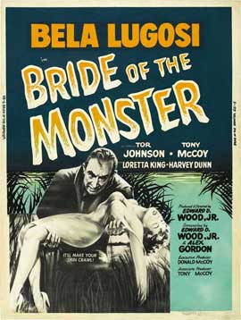 Bride of the Monster - 11 x 17 Movie Poster - Style C