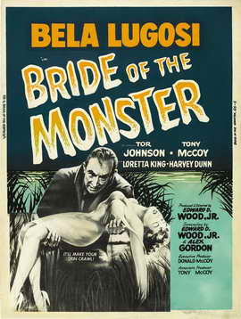 Bride of the Monster - 27 x 40 Movie Poster - Style C