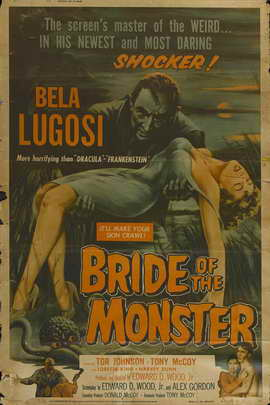 Bride of the Monster - 11 x 17 Movie Poster - Style D