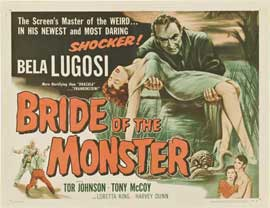 Bride of the Monster - 11 x 14 Movie Poster - Style A